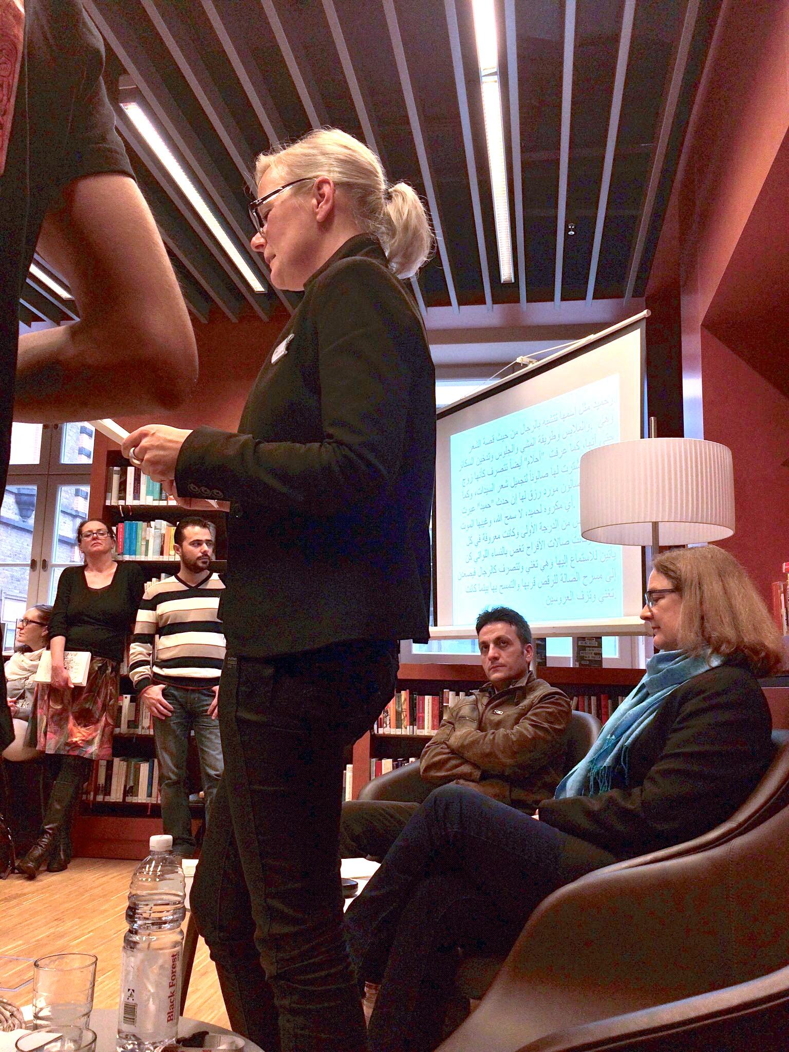 bonnections 1. deutsch-arabischer Buchclub -> im Haus der Bildung