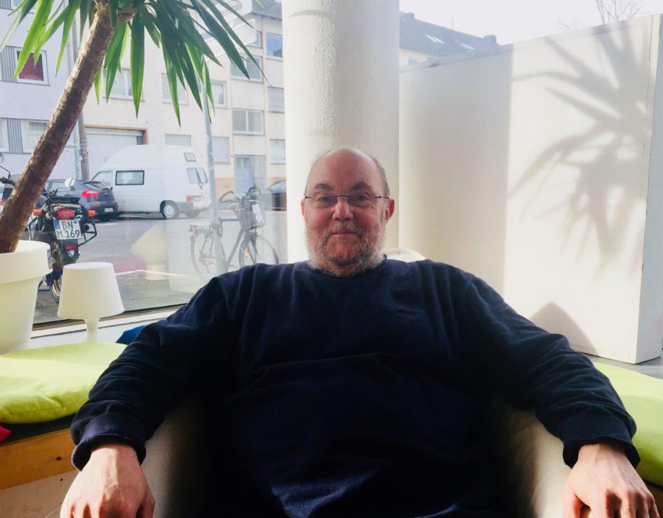 """Bürgerexperte: Herand Müller-Scholtes von der Initiative """"Verkehrswende Bonn"""""""
