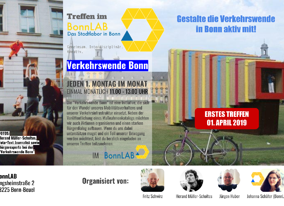 "1. Treffen der Initiative ""Verkehrswende Bonn"""