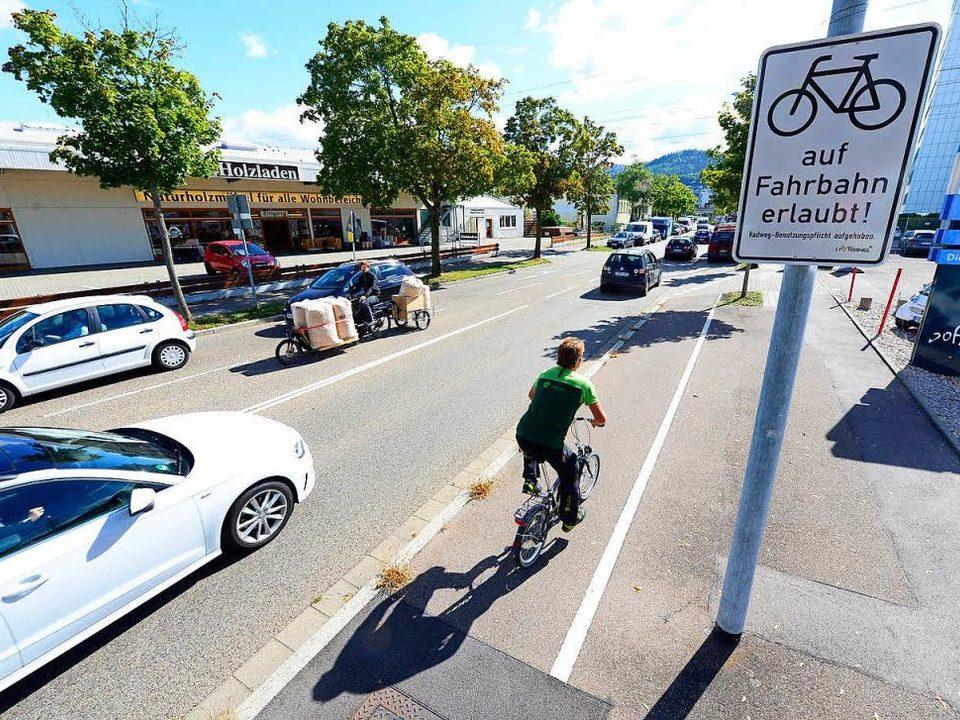 Sicher Radfahren - Straße oder Radweg?