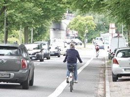 Schutzstreifen für Radfahrer*innen: Ohne Benutzungspflicht !