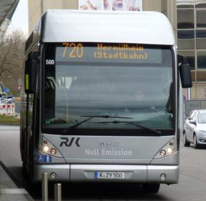 Eine Fahrt mit dem Wasserstoffbus