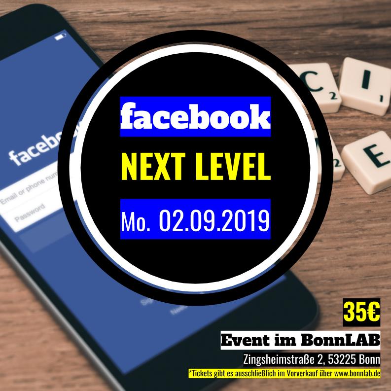 facebook NEXT LEVEL