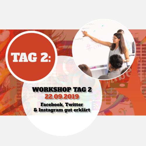 "Social Media professionell & privat nutzen (""Tag 1"" am 24.08.2019)"