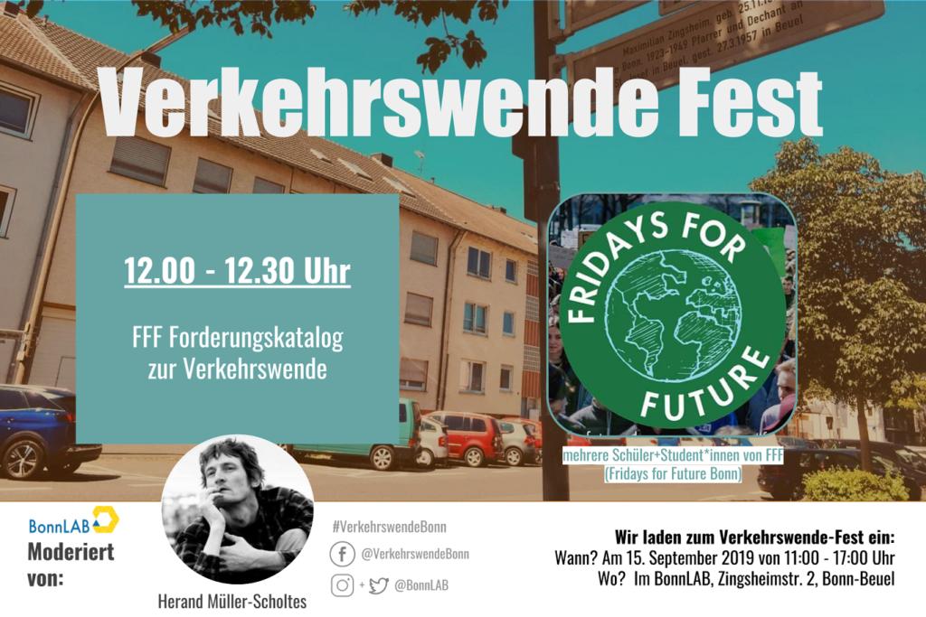 Verkehrswende Fest