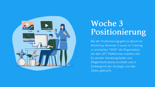 LIFT your Company - Start im Mai (3 Teilnehmer)